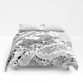 Copenhagen building city map Comforters