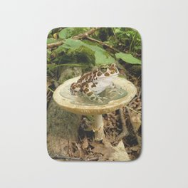 Toad Stool. Bath Mat