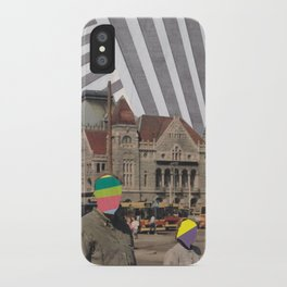 travel weary iPhone Case