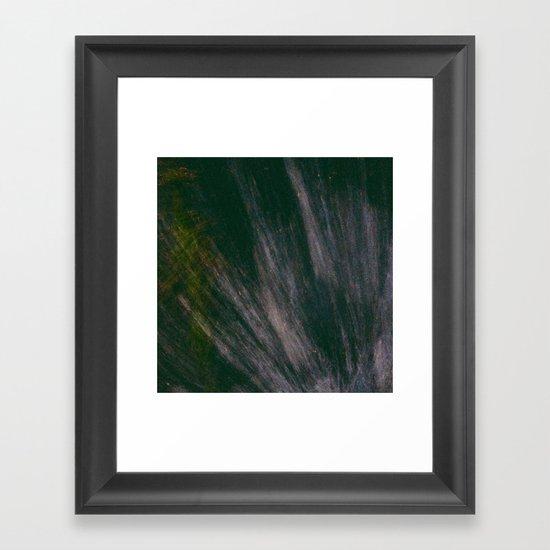 Puddle Spash  Framed Art Print