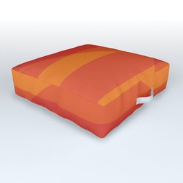 Oculus Home Red Orange Pillow Outdoor Floor Cushion