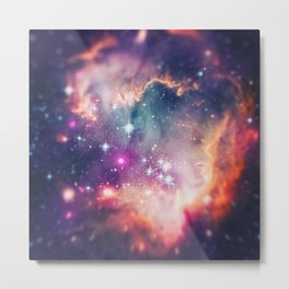 The Universe under the Microscope (Magellanic Cloud) Metal Print