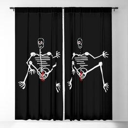 Skeleton Toto Male Blackout Curtain
