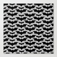 bats Canvas Prints featuring Bats by Sney1
