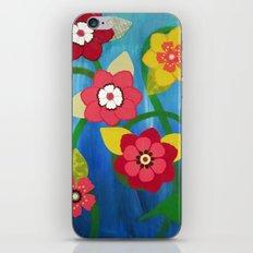 Dancing Flowers iPhone & iPod Skin