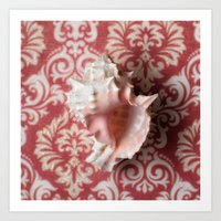 shell Art Prints featuring Shell by Elliott's Location Photography
