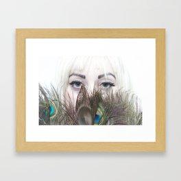 Peacocks Framed Art Print