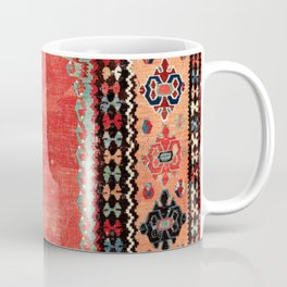 Sivas  Antique Cappadocian Turkish Niche Kilim Coffee Mug