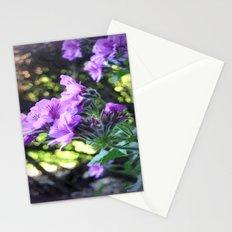 Geraniums Stationery Cards