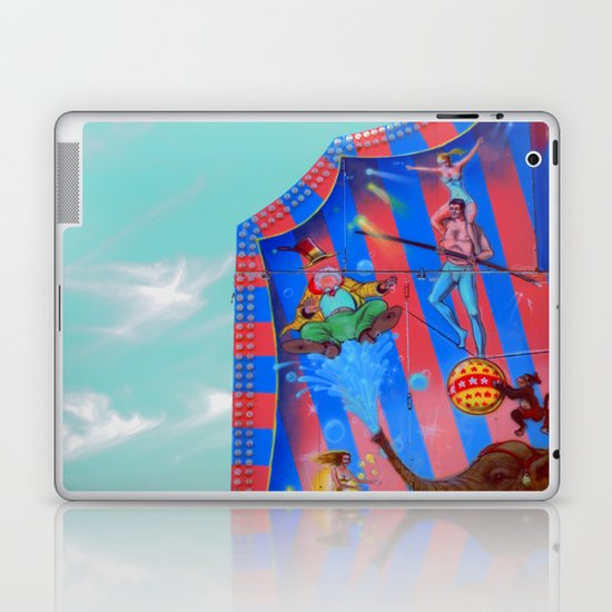 Circus Tent in The sky Laptop & iPad Skin