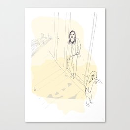 Young Londoner Canvas Print
