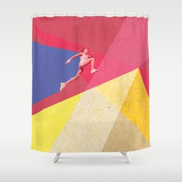 human dynamic #5 Shower Curtain