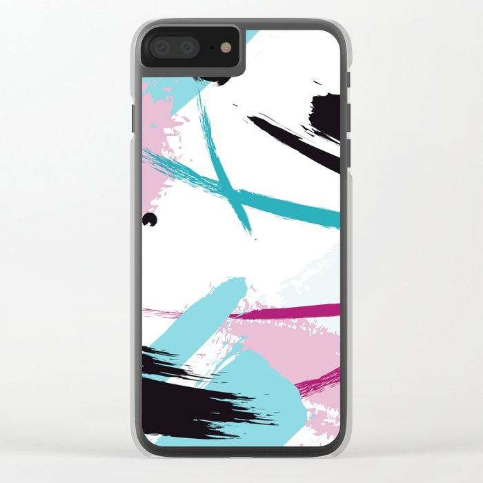 Expression Clear iPhone Case
