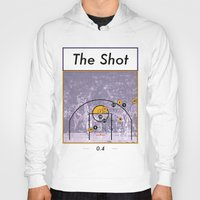 lakers Hoodies featuring The Shot Series, Derek Fisher by Dyllin Shane