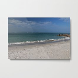 Without the Morning's Kiss Metal Print