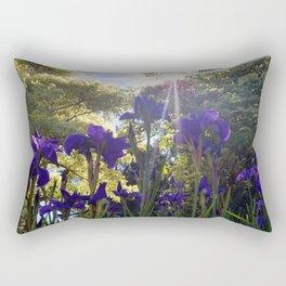 Iris Light Rectangular Pillow