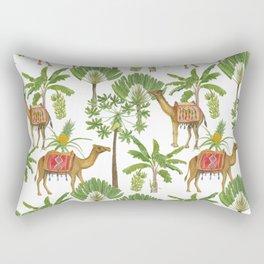 Camels and palms Rectangular Pillow