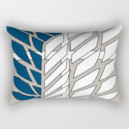 Wings of Liberty Atack on titan Rectangular Pillow