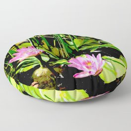 The Pond I Floor Pillow