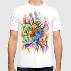 Love Ink Mens Fitted Tee MEDIUM White