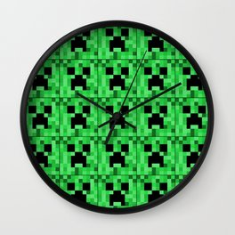 Creepers Wall Clock