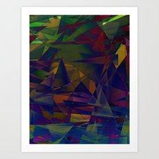 Angst Art Print