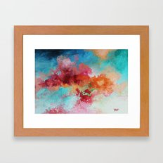 Intentions Framed Art Print