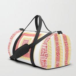 Slavic Square Mandala - Odolen Trava - Symbol Duffle Bag