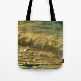 Leaping Falling Rushing #2 Tote Bag