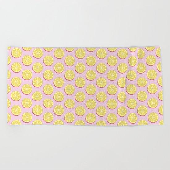 Lemons Beach Towel