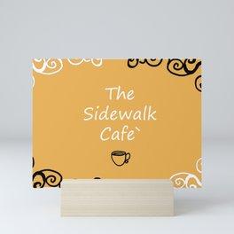 The Sidewalk Cafe Mini Art Print
