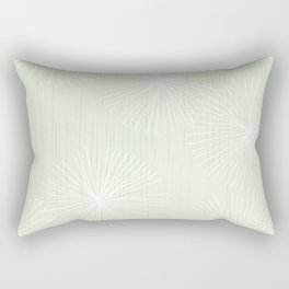 Dandelions in Mint by Friztin Rectangular Pillow