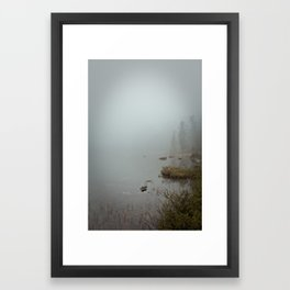 sleeping nature Framed Art Print