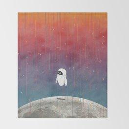 Moon Landing Throw Blanket