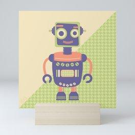 Rob-Bot01 Mini Art Print