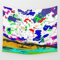 zodiac Wall Tapestries featuring Zodiac by lookiz