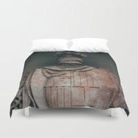 shield Duvet Covers featuring Shield by HMS James