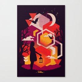 Illuminates Canvas Print