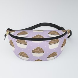 Chocolate Cupcakes with Frosting Fanny Pack