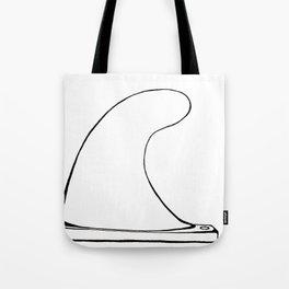 Single fin Tote Bag
