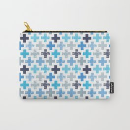 Patchy Crosses Carry-All Pouch