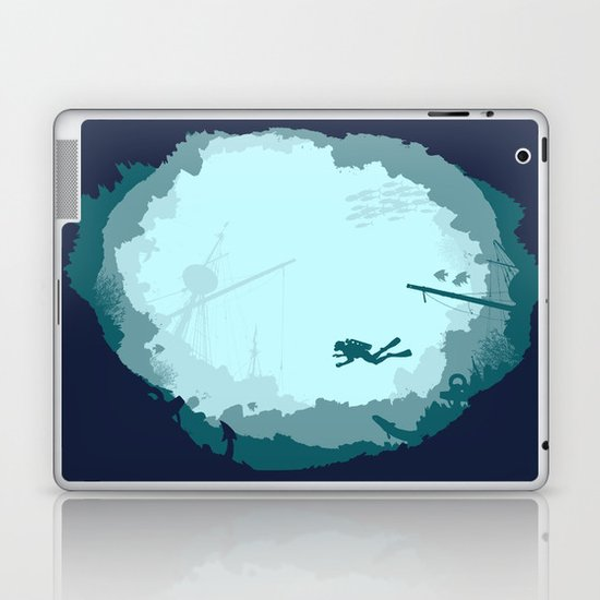 Dive Deep Laptop & iPad Skin