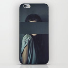 Mystery Girl iPhone Skin