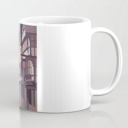Retro Style Travel Poster - Chester Eastgate Clock Coffee Mug