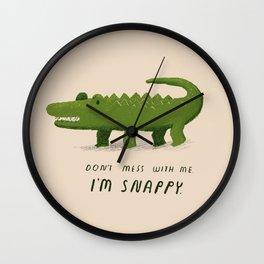 i'm snappy Wall Clock