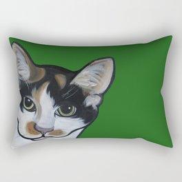 Callie the Calico Rectangular Pillow
