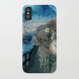 Aliyah -'she heard the call to ascend the Mt and she knew the time was now' iPhone Case
