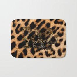 Leopard Shadow Bath Mat