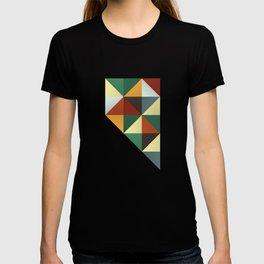 Geometric Nevada T-shirt