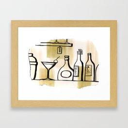 Liqueur Framed Art Print